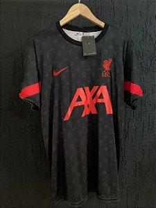 Camiseta Liverpool Prea 2021 Com Frete Grátis