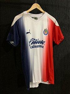 Camiseta Chivas Guadaralara Branca 2021 Com Frete Grátis