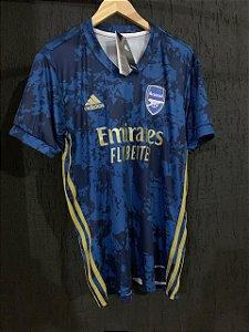 Camiseta Arsenal Azul 2021 Com Frete Grátis