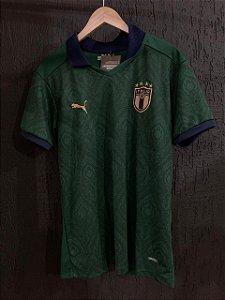 Camiseta Itália Verde 2021 Com Frete Grátis