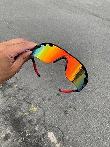 Óculos Oakley Radar Lente Vermelha Frete Grátis