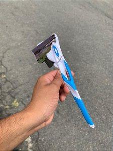 Óculos Oakley Radar Lente Azul Bebe Armação Branca Com Azul Frete Grátis