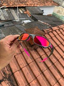 Óculos Oakley Juliet Armação X-Metal Lente Tanzanet Frete Grátis