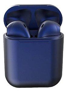 Fone Bluetooth InPods 12 5.0 Azul Marinho Oferta Frete Gratis