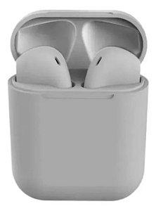 Fone Bluetooth InPods 12 5.0 Cinza Oferta Frete Gratis