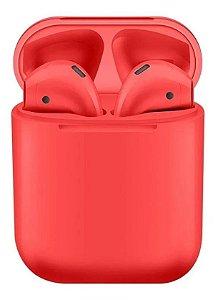 Fone Bluetooth InPods 12 5.0 Vermelho Oferta Frete Grátis