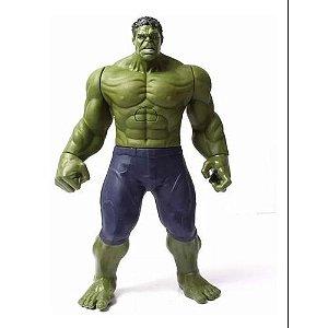 Boneco Hulk Heróis Avengers 30cm Musical / Luz