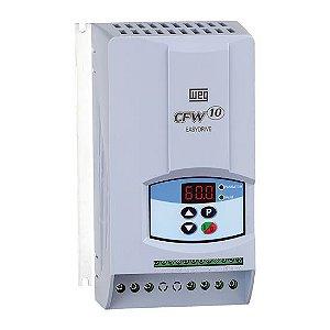 Inversor WEG CFW100073S2024PSZ Rede/line 110V ac 1~16A 50-60hz