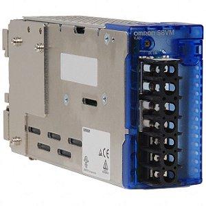 OMRON S8VM-15024CD FONTE DE ENERGIA ENTRADA 100-240VAC SAÍDA 24V 6.5A 50 / 60HZ