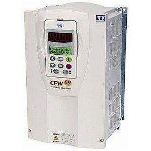 Inversor de frequência CFW09 75 CV  105 Amp.  55 kW  380 / 440 V  trifásico  ( NOVO )