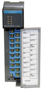 Módulo de saída analógico slc 500 1746-obp8 -6n1az7xf