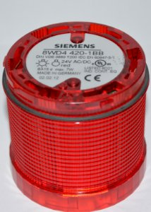 Sinalizador de Coluna Intermitente C/Led 24V AM - 8WD4420-1BB