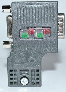 SIMATIC DP CONECTOR P/ PROFIBUS - 1P6ES7972-0BB52-0XA0