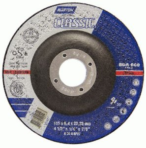 Disco de Desbaste Classic Norton BDA 600 - 115 x 6,4 x 22,23