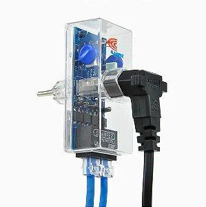 PROTETOR DE SURTO - CLAMPER Energia + Ethernet