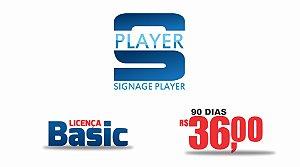 SIGNAGE PLAYER APLICATIVO ANDROID PARA SISTEMA DE MÍDIA INDOOR - LICENÇA BASIC (90 DIAS)