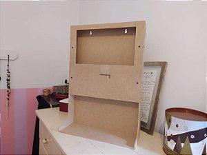 Projeto Mini Totem Carregador de Celular em MDF