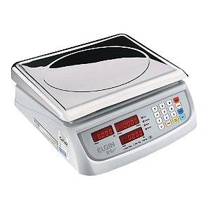 Balança Digital Computadora 15kg Inox Com Bateria Elgin Dp15 Plus