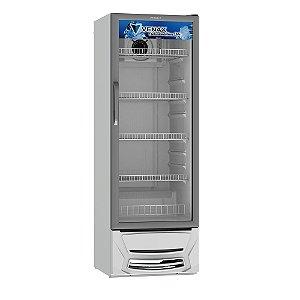 Expositora de Bebidas Vertical Branca com 1 Porta de Vidro Venax VV 300 L