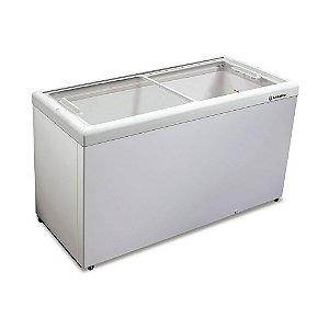 Freezer Horizontal de 439L com 2 Tampas de Vidro Metalfrio HF55L