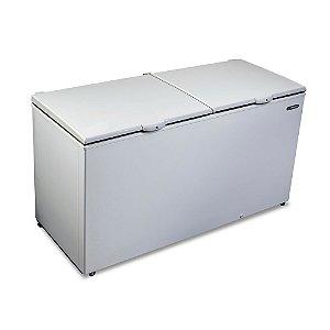Freezer Horizontal de 546L com 2 Tampas Cegas Branco 220V Metalfio DA550