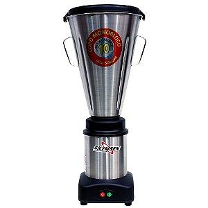 Liquidificador Industrial Monobloco Basculante de 10L Copo Inox Skymsen LS-10MB-N