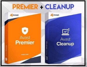 AVAST PREMIER 2019 + CLEAM UP ATÉ 2031 P/ 5 PC'S