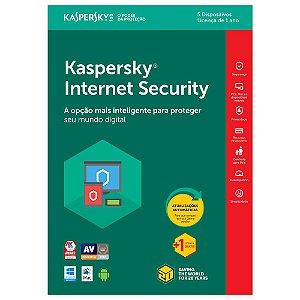 Kaspersky Internet Security 2020 Multidispositivos 5 PCs - Digital para Download
