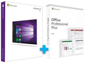 MICROSOFT WINDOWS 10 PRO + OFFICE 2019 PROFESSIONAL + NOTA FISCAL - ESD 32/64 BITS