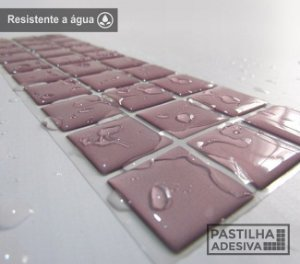 Faixa Pastilha Adesiva Resinada 28x9 cm - AT09