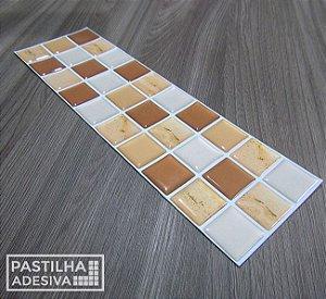 Faixa Pastilha Adesiva Resinada 28x9 cm - AT017