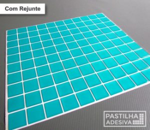 Placa Pastilha Adesiva Resinada 30x28,5 cm - AT033