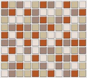 Placa Pastilha Adesiva Resinada 30x28,5 cm - AT049
