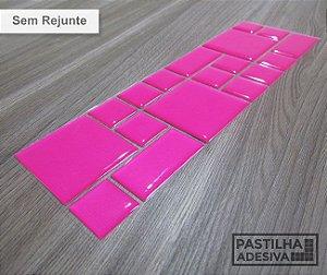 Faixa Mosaico Adesiva Resinada 28x9 cm - AT98