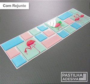 Faixa Mosaico Adesiva Resinada 28x9 cm - AT125