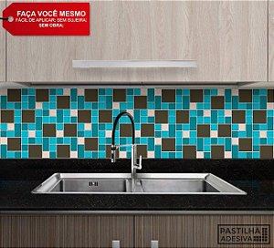 Placa Mosaico Adesiva Resinada 30x28,5 cm - AT130