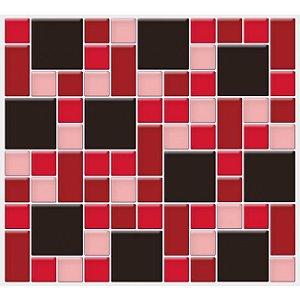 Placa Mosaico Adesiva Resinada 30x28,5 cm - AT132