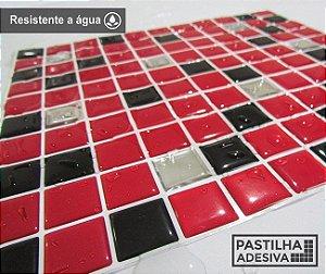 Placa Pastilha Adesiva Resinada 30x28,5 cm - AT173