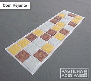 Faixa Pastilha Adesiva Resinada 28x9 cm - AT183