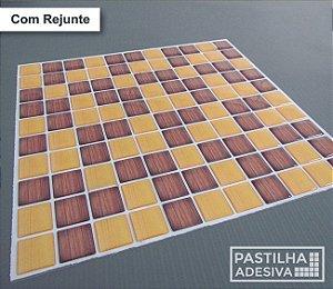 Placa Pastilha Adesiva Resinada 30x28,5 cm - AT189
