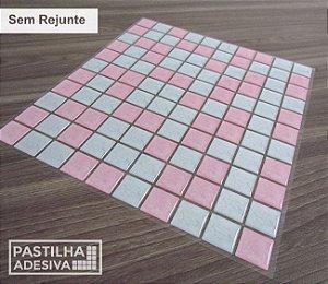 Placa Pastilha Adesiva Resinada 30x28,5 cm - AT190
