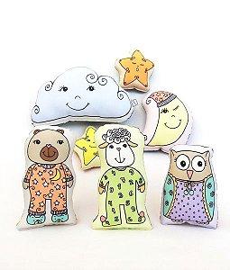 Coleção mini-naninhas para colorir e sonhar