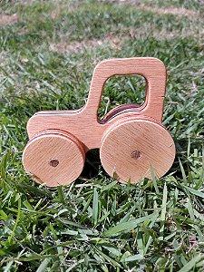 Carrinho de madeira - Trator
