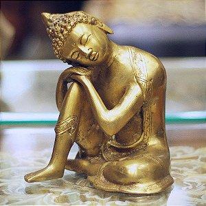 Buda Pensativo Branze 16cm