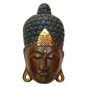 Máscara Buda Ouro 50cm