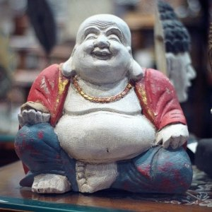 Buda Feliz Sentado