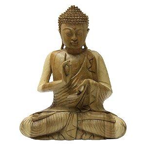 Buda Sentado Dharmachacra 40cm