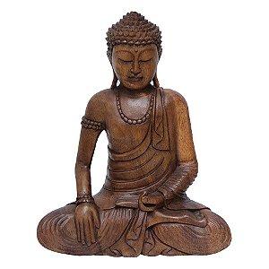 Buda Sentado Bhumisparsa 40cm