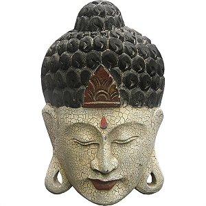 Máscara Buda Craquelado 50cm