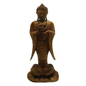 Buda Pé Dharmachacra 50cm